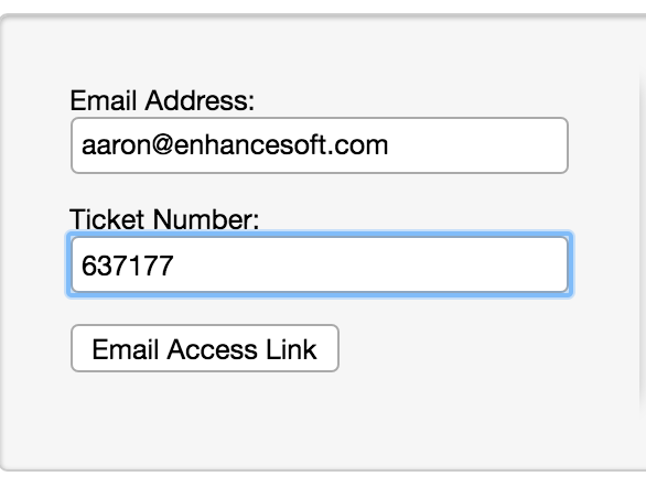 Email Access Link