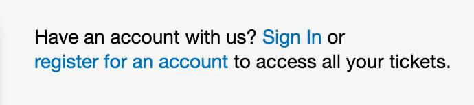 Have An Account Already?